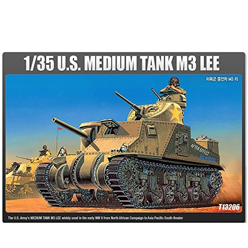 Academy Models 13206 1/35 U.S Medium Tank M3 Lee Tank, used for sale  Delivered anywhere in USA