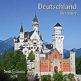 Deutschland Germany 2018 - Broschürenkalender - Wandkalender - mit herausnehmbarem Poster - Format 30 x 30 cm