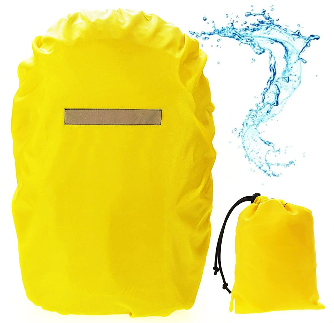 Waterproof cover for backpack Raincovers Rainproof Dust Raincover 35-55 L [070]