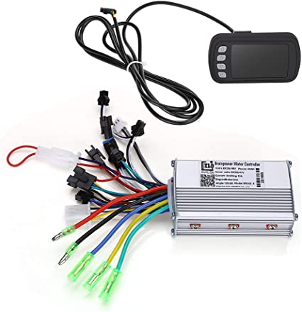 36V-48V LCD Screen Monitor Brushless Motor Speed Controller For Electric Bicycle