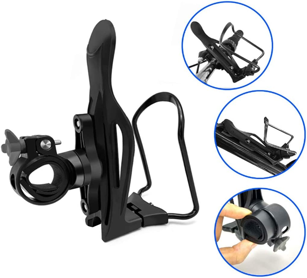 Bicycle Drink Water Bottle New Aluminum Alloy Cycling Rack Holder Cage Bracket