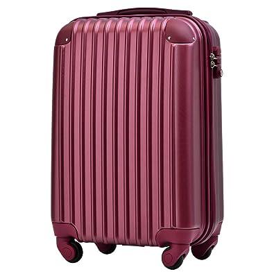 1a6beb6f1b [トラベルハウス] Travelhouse スーツケース 超軽量 TSAロック搭載 ABS 半鏡面仕上げ
