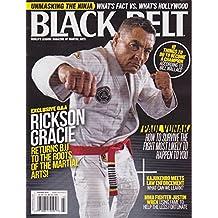 BLACK BELT MAGAZINE FEBRUARY 2018 EXCLUSIVE Q&A RICKSON GRACIE