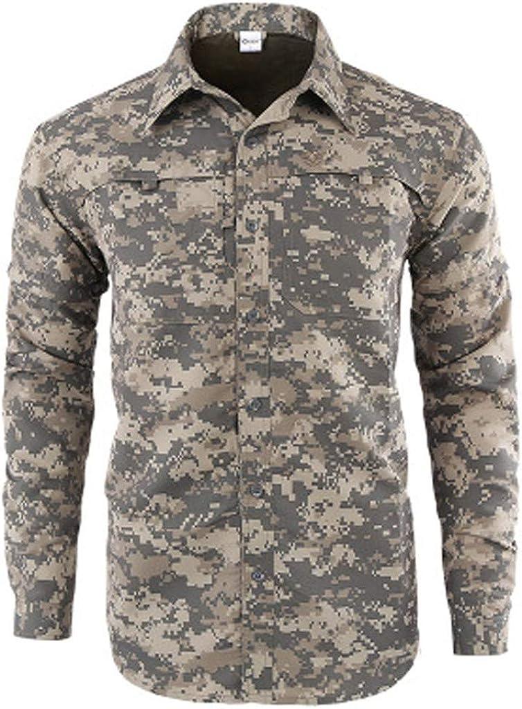Camiseta de Camuflaje Hombre Militares Camisetas Deporte Ropa Deportiva Camisa de Manga Corta de Camuflaje Slim fit Casual para Hombres Tops Blusa: Amazon.es: Ropa y accesorios