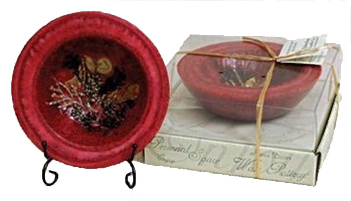 【格安SALEスタート】 HabershamクランベリーSpiceワックス陶器Home Fragrance B015RUK4DK カラー: 5.5 レッド 5.5 inch Fragrance diameter B015RUK4DK, こたつ専門店 カグ楽:6d209b94 --- adornedu.com