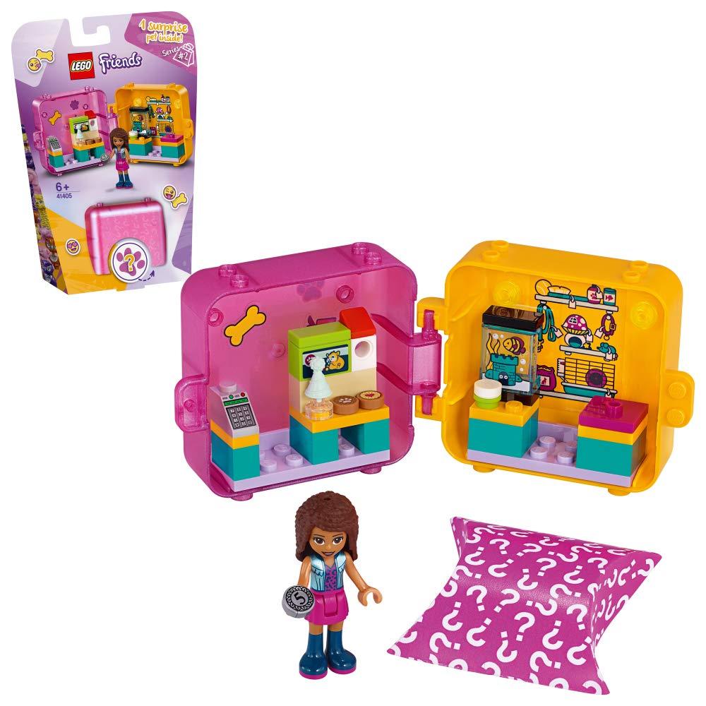 レゴ(LEGO) フレンズ キュービーズ - アンドレアのペットショップ 41405