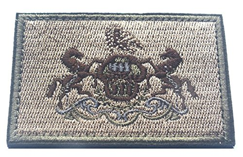 Pennsylvania FLAG TACTICAL US ARMY USA MILITARY MORALE VELCRO PATCH (a set) (1)