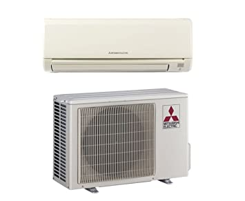 Mitsubishi   Mini Split Heat Pump Inverter   9K   9000 BTU   18 SEER (