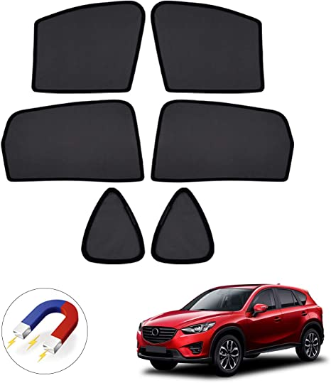 Premis Magnet Mesh Car Side Window Sun Shades,UV Rays Protection Window Shade for Toyota Corolla 2014-2019 4 Pack