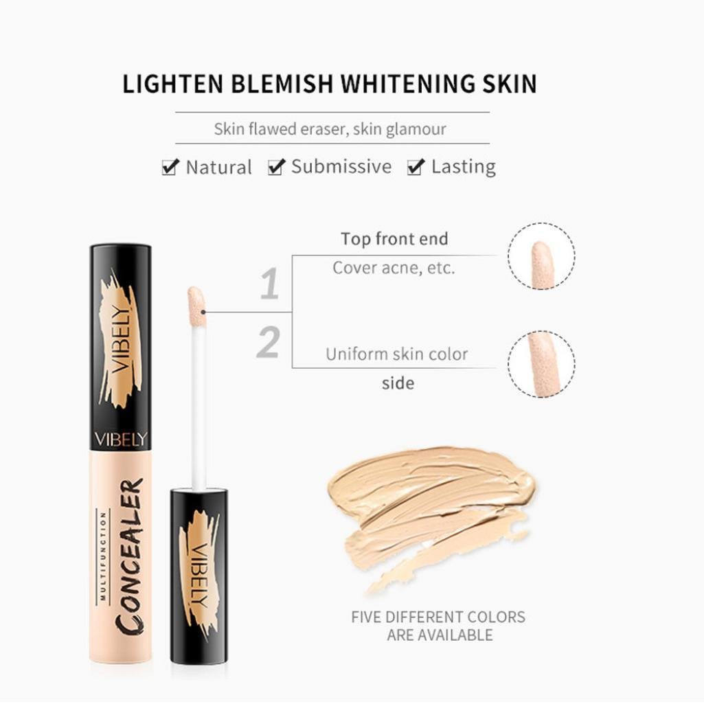 Amazon.com : LiPing Professional Face Concealer Palette Spots Of Acne And Black Concealer Foundation Cream Palette Cosmetic Brightening Makeup (B) : Beauty