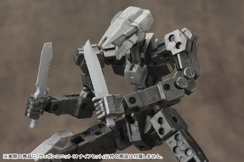 NON Masstab Kunststoff-Modell M.S.G Modellierungsunterstutzung Waren Waffeneinheit 34 Messersatz