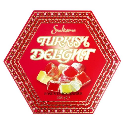Sweet 10 Sultans Rose & Lemon Turkish Delight 6X325G