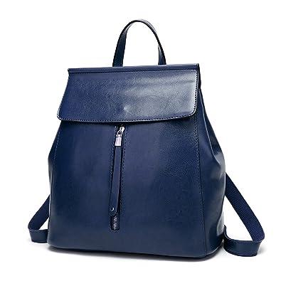 dc6e3dbd5b78 Amazon.com  Herald Fashion Women Backpack Casual Shoulder Bag Ladies  Rucksack School Bag  Shoes