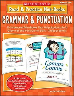 Read & Practice Mini-Books: Grammar & Punctuation: 10