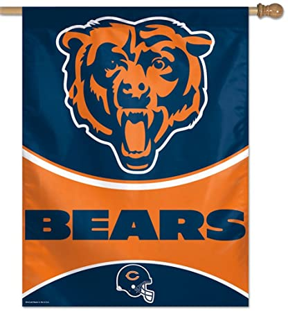 686914c4c244a0 Amazon.com : WinCraft Chicago Bears NFL House Flag : Sports & Outdoors