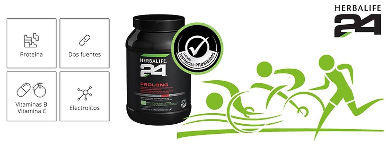 Herbalife 24 Prolong - Recuperación isotónica (900 g, toque de limón): Amazon.es: Deportes y aire libre
