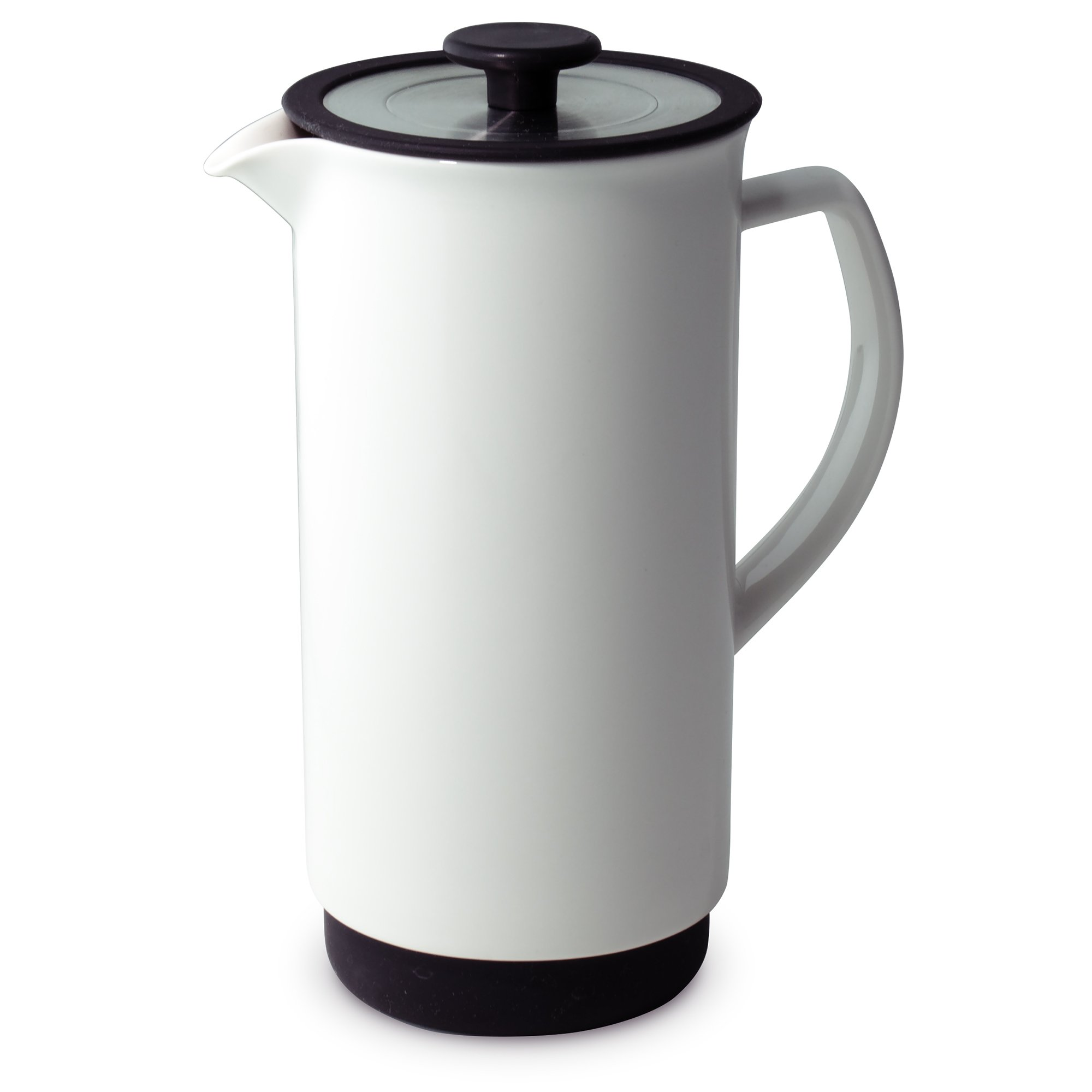 FORLIFE Cafe Style Coffee/Tea Press, 32-Ounce, White by FORLIFE
