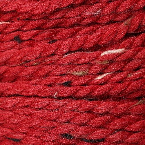 (Grande Tweed Baby Alpaca Yarn - Cranberry Tweed #2055)