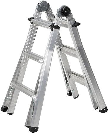 Cosco 20127T1ASE - Escalera multiposición: Amazon.es: Bricolaje y herramientas