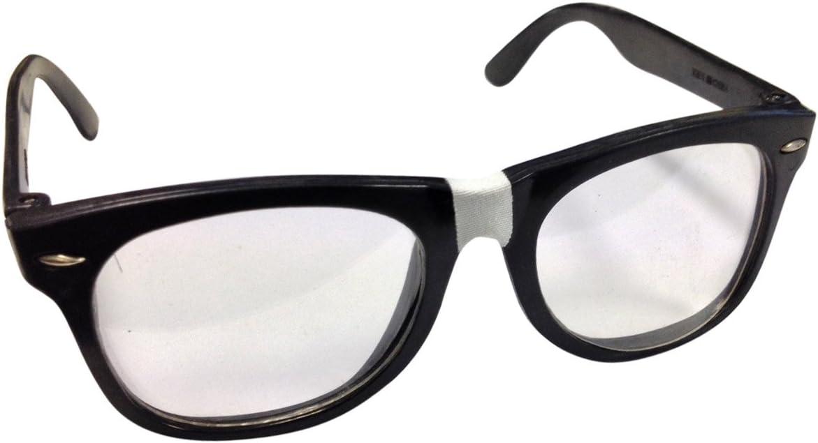 P'tit Clown 10811 - Gafas de plástico, Austin, cristales transparentes, negro