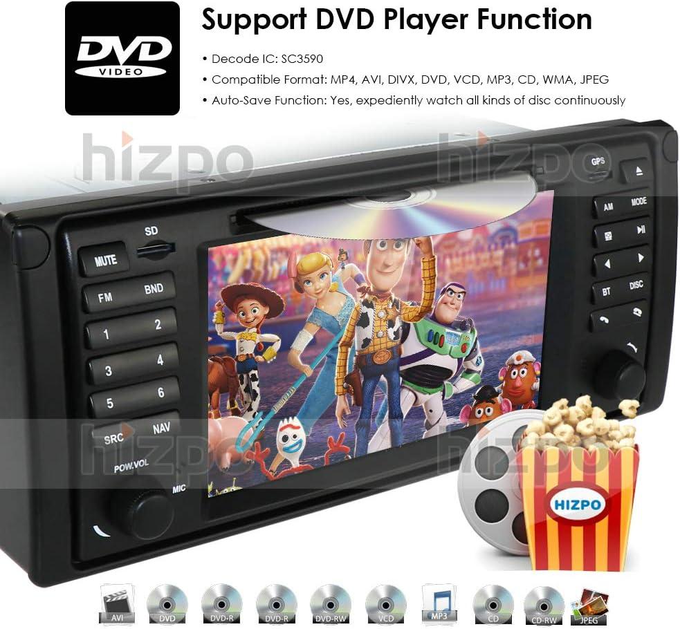 Android 10.0 Doble DIN 8.8 Pulgadas Coche est/éreo Sat Nav para BMW Serie 3 E46 3er M3 Rover 75 MG ZT GPS Multimedia Player Radio Auto carplay DSP RDS