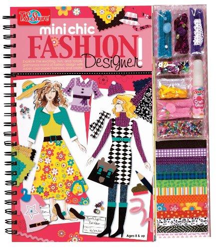 Chic Fashion Designer Book & Kit