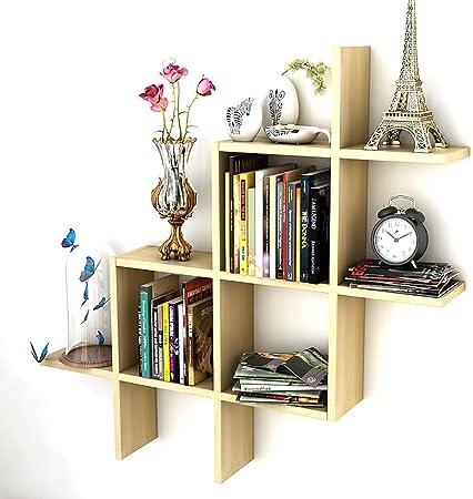 Bibliothèques Support de livre cloison en bois massif