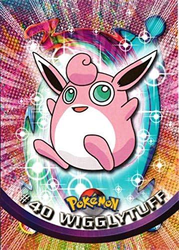 Wigglytuff Topps Pokemon Card