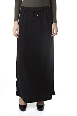 2c580028b Esteez Women's Maxi Jean Skirt Tencel Denim - Atlanta at Amazon ...