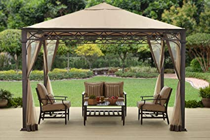Amazon Com The Outdoor Patio Store Canopy For Bhg Courts Landing
