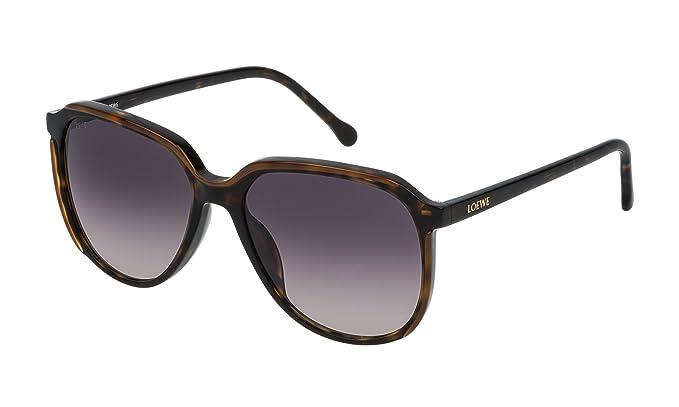 Loewe SLW962M5601EH, Gafas de sol para Mujer, Dark Havana ...