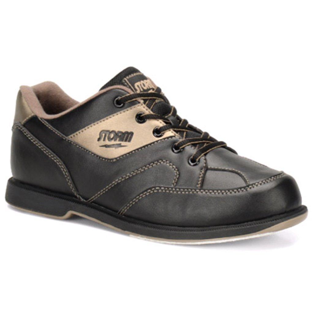 Storm Mens Taren Bowling Shoes Right Hand- Black/Bronze Storm Bowling Shoes