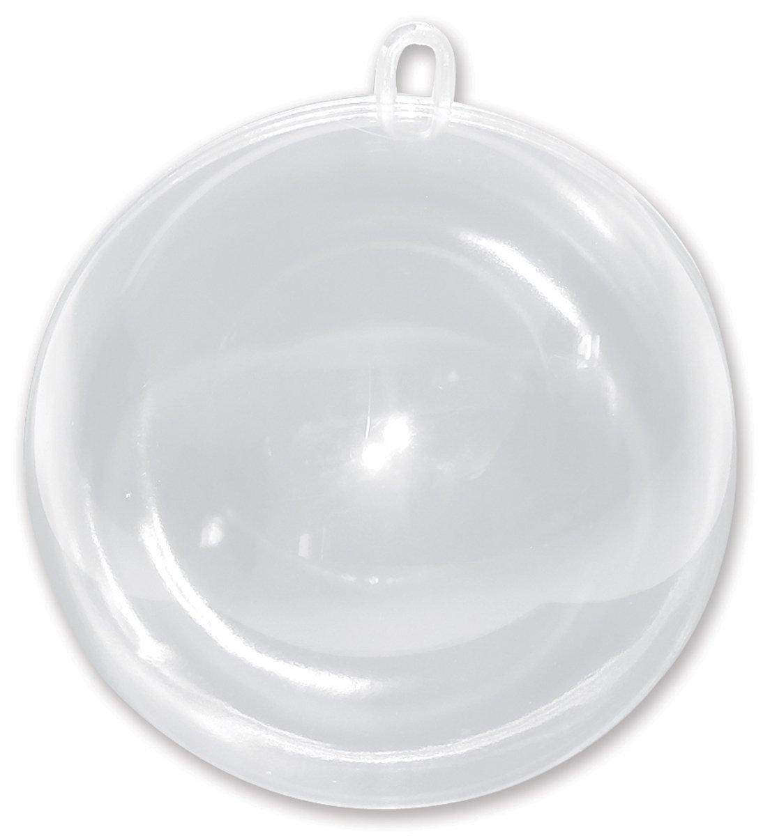 Acrylic clear ornaments - Amazon Com Darice Plastic Fillable Ornament Ball 100mm Clear Home Kitchen