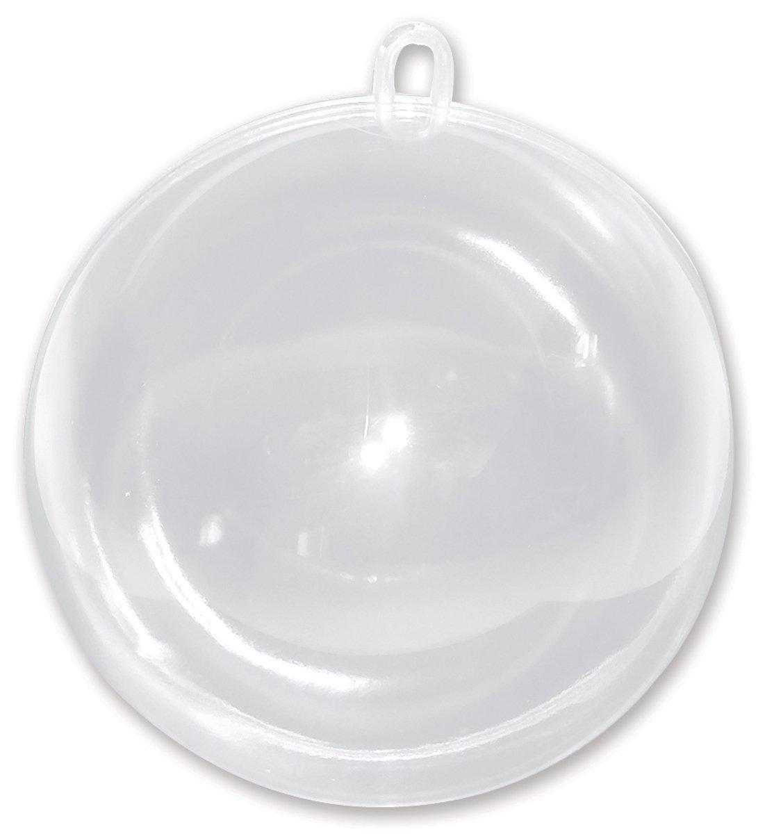 Clear acrylic fillable ornaments - Amazon Com Darice Plastic Fillable Ornament Ball 100mm Clear Home Kitchen