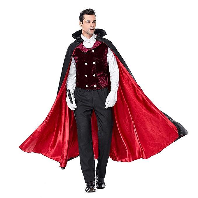 HOOLAZA Multicolor Herren Vampir Kostüm Classic Vampire