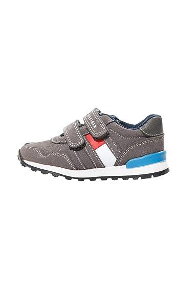 11e29802a8 Tommy Hilfiger Kinder Sneaker Sport- Schuhe Unisex: Amazon.de: Schuhe &  Handtaschen