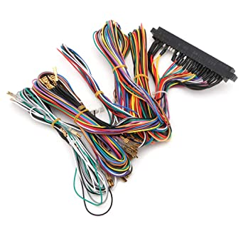 60 in 1 arcade jamma board machine wiring harness harness arcade diy kit  parts - l060 new hot: amazon com: industrial & scientific