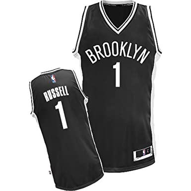 891847c0 ... shop outerstuff dangelo russell brooklyn nets nba youth black road  replica jersey youth small 4301c bf11a