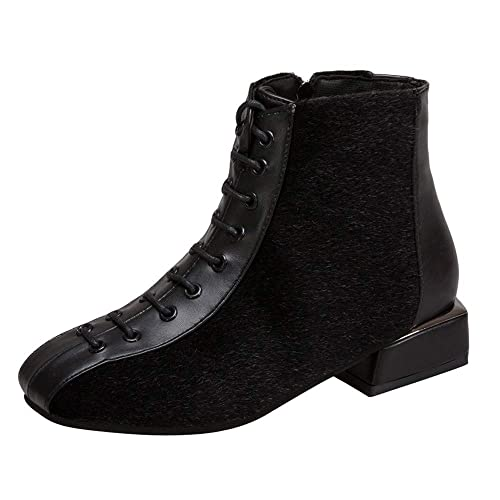 Oyedens Stivali Scarpe Donna Invernale Sportive Scarpe da Corsa Sneakers  Antiscivolo Outdoor Ankle Boots Low Heel c13d00a2a59