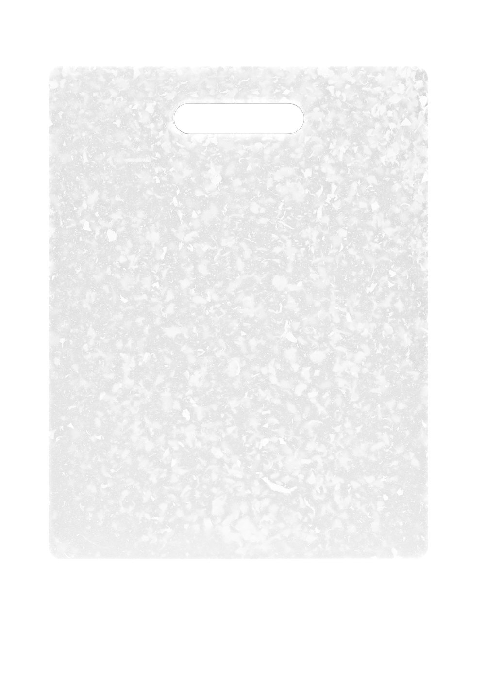 Dexas Jelli Cutting Board, 8.5 by 11 inches, Natural and White Granite Pattern