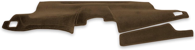 Coverking Custom Fit Dashboard Cover for Select GMC Yukon Denali - Velour (Beige)