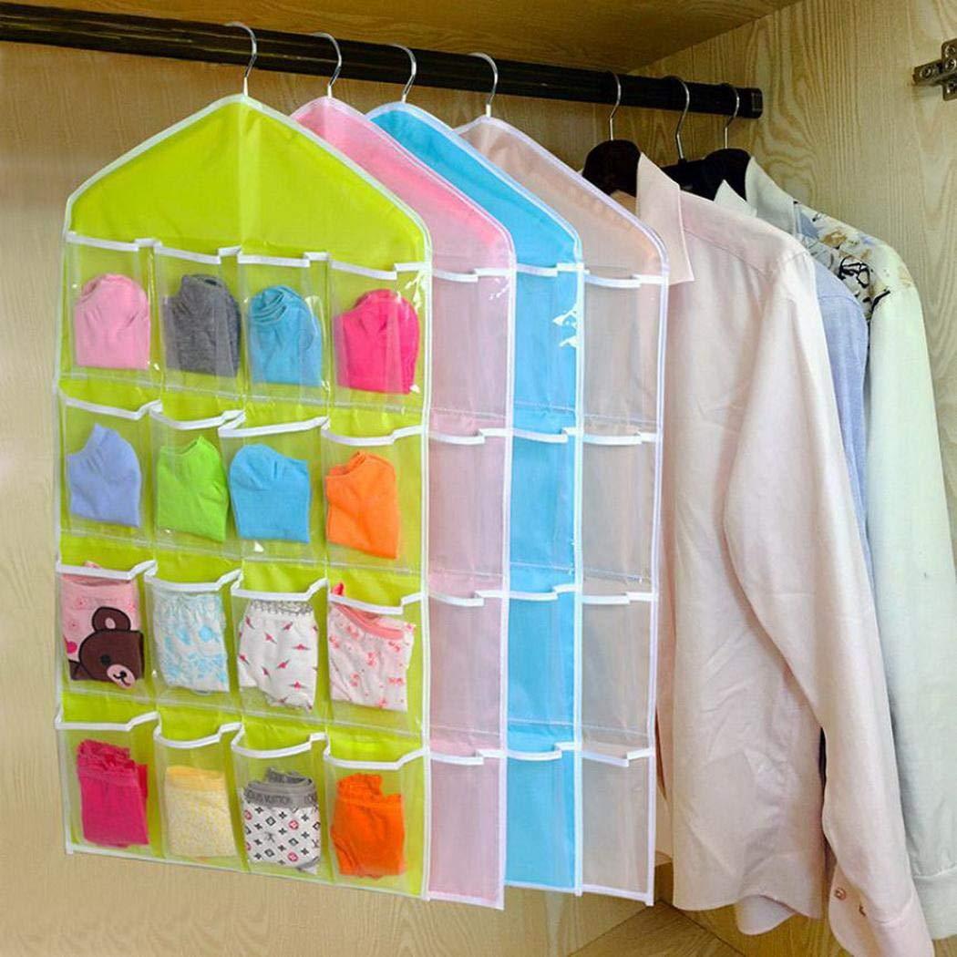 Yugiose Hanging Storage Bags Wall Pocket Hanging Storage Bags Space Saver Bags