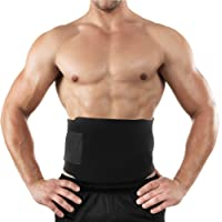 Waist Trimmer Belt for Slimmer Kit, Weight Loss Wrap, Stomach Fat Burner, Low Back and Lumbar Support with Sauna Suit Effect, Best Abdominal Trainer