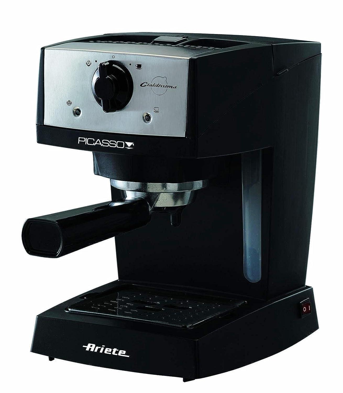 Ariete 1366 Picasso Cialdissima Espresso Coffee Machine, 850 W, Black