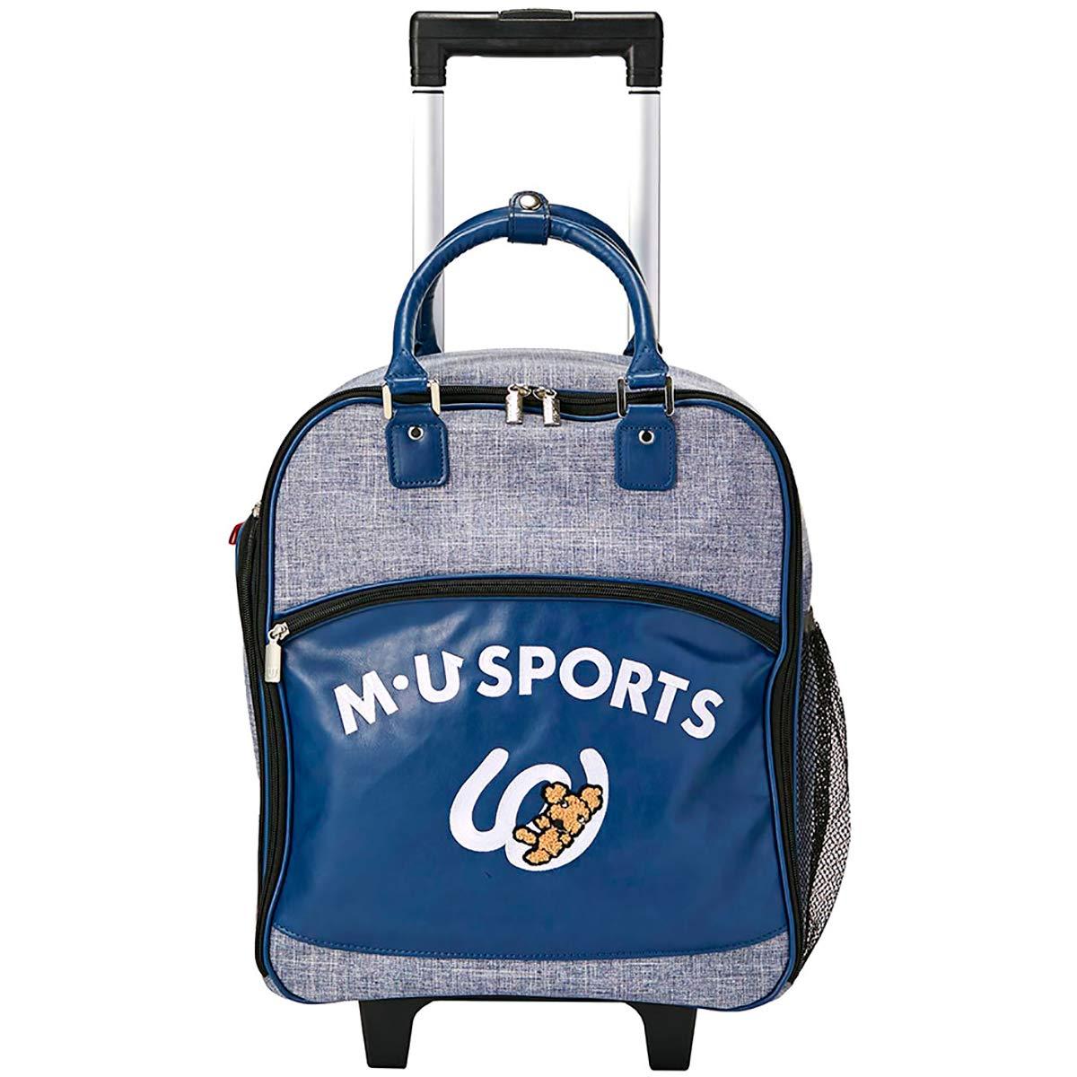 MU SPORTS(エム ユースポーツ) キャディーバッグ 2019SSシリーズ デニム風キャリーケース ブルー 703P2214 ブルー B07QTLSLJP