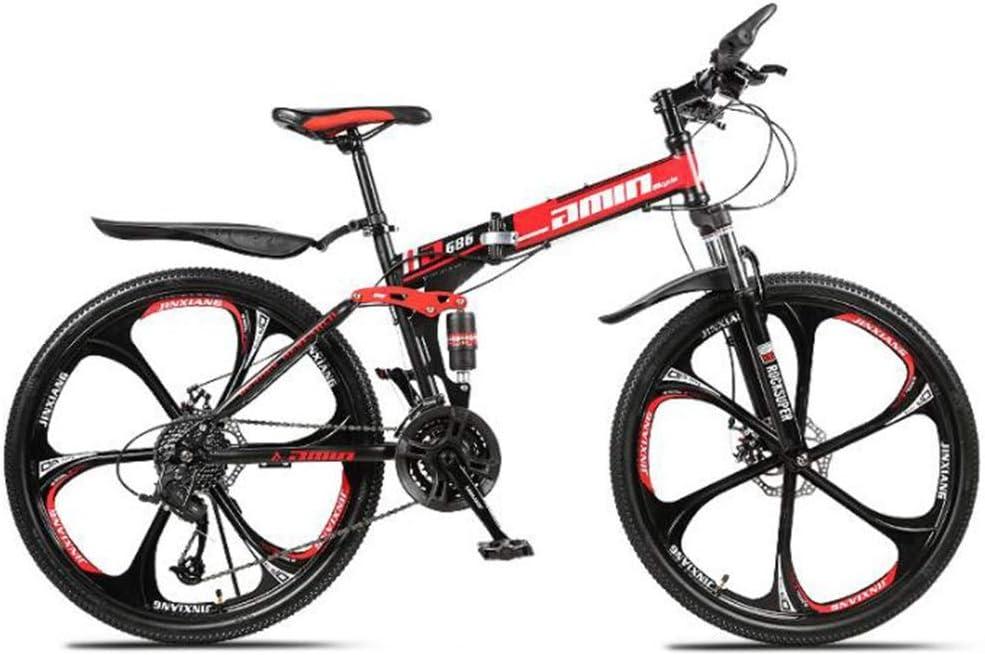 Tbagem-Yjr Deportes Ocio Plegable Bicicleta De Montaña Estilo ...