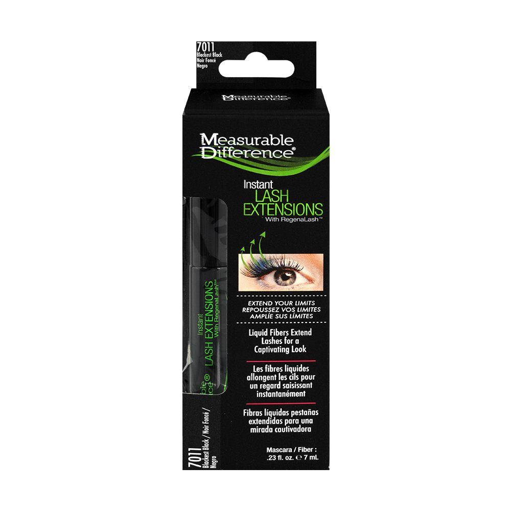 Amazon.com : Measurable Difference Instant Lash Extensions - Blackest Black : Mascara : Beauty