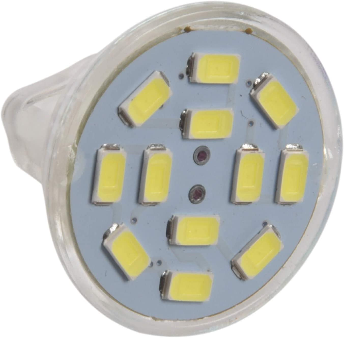 WOVELOT 6W Proyector Led Gu4 (Mr11) Mr11 12 Smd 5730 570 Lm Dc 12V, Blanco