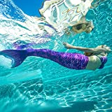 Fin Fun Wear-Resistant Mermaid Tail for Swimming