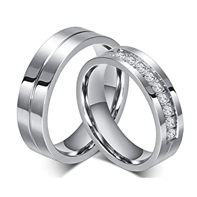 products matching titanium copy of set wedding rings bands anniversary couple gold handmade dome plain